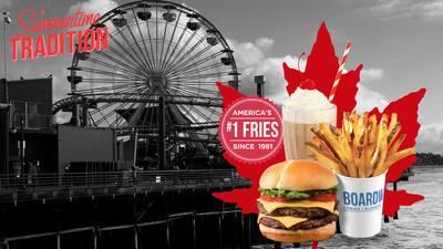 Boardwalk Burgers Fries Shakes Restaurant St. John's, NL