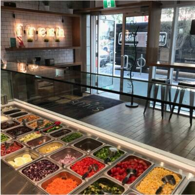 Salus Fresh Foods Restaurant London, Ontario