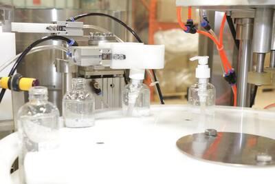 Hand Sanitizer Bottling Plant Business For Sale