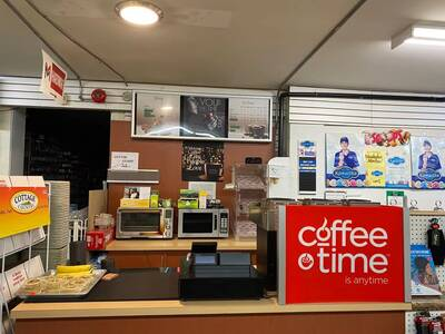 Coffee Time with Hardware and Convenience Store--