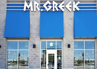 Mr. Greek Fast Casual Restaurant Opportunity in Hamilton, Ontario.
