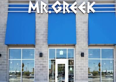 Mr. Greek Fast Casual Restaurant Opportunity in Whitby, Ontario.