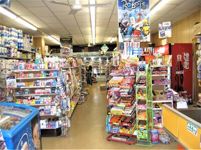 BUSY GROCERY STORE WITH BUILDING FOR SALE