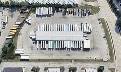TRUCK TERMINAL WITH SHOP & OUTSIDE STORAGE FOR SALE