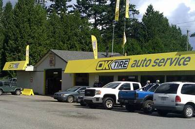 GERRY'S OK TIRE FRANCHISE FOR SALE IN NORTH ABBOTSFORD