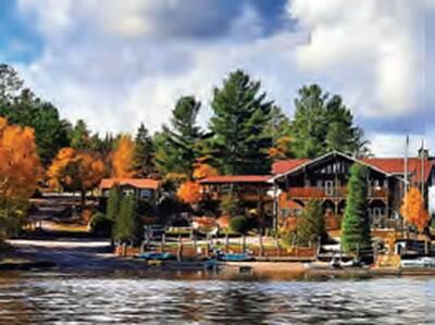 RESORT FOR SALE AT LAKE NIPISSING