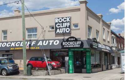 ROCKCLIFF AUTO - Kitchener, Ontario Location