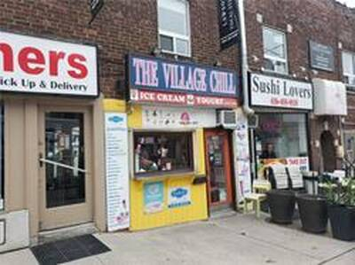 Famous Ice Cream Shop for Sale in Toronto, ON