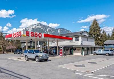 Esso Gas Station with Convenience Store and Manager Suite for Sale in Hope, BC