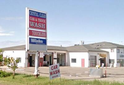 Car Wash with Convenience Store and Living Space for Sale in Grande Prairie, AB