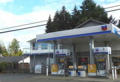 Chevron Gas Station with Convenience Store for Sale in Qualicum Beach, BC