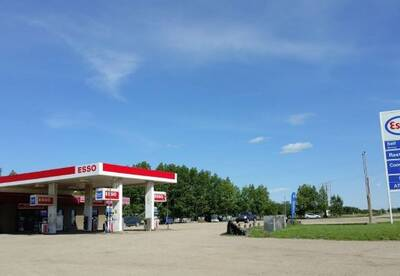 High Traffic Esso Gas Station with Restaurant for Sale in Saskatoon, SK