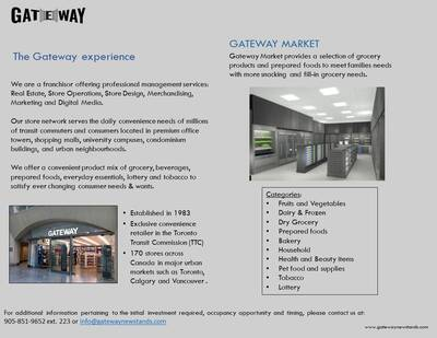 New & Exciting Franchise Store Opportunities - IMMEDIATE OCCUPANCY!!
