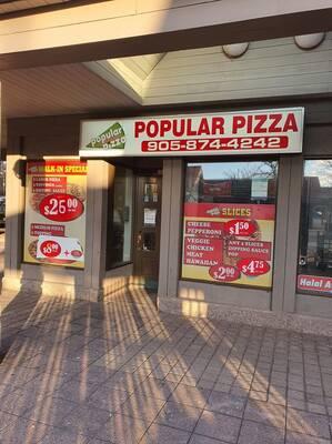 Established Pizza Shop for Sale in Mississauga