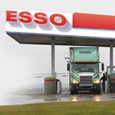 TRUCK STOP WITH ESSO GAS AND CARD LOCK FOR SALE--
