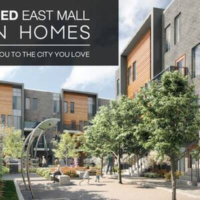 4HUNDRED EAST MALL - Stacked Town Homes for Sale in Etobicoke
