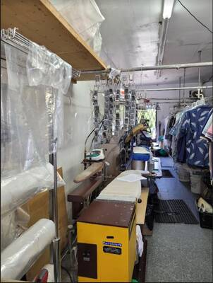 Dry cleaning business for sale with low rent