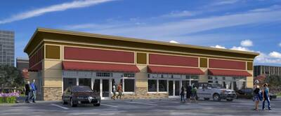 Over 27,000 sq.ft Plaza with AAA tenants and great exposure