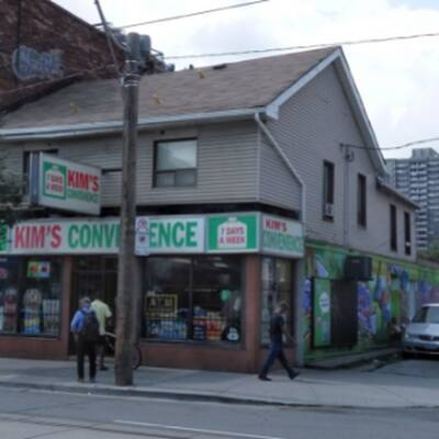 Famous Kim's Convenience Store for Sale in Toronto