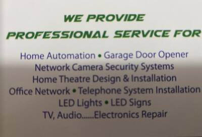 HOME & COMMERCIAL SECURITY SYSTEM SERVICE