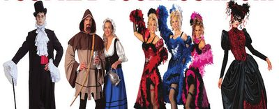 COSTUME RENTAL INVENTORY FOR SALE
