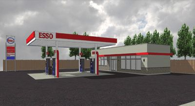 NEW WEST END ESSO STATION FOR SALE
